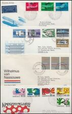 Netherlands Fdc's (x8) 1967-69 (Id:383/D35842)