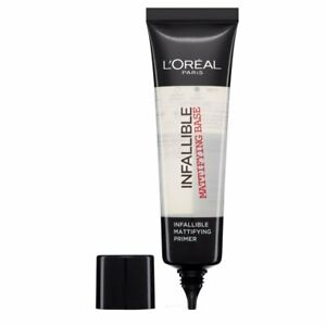 L'OREAL Paris Infallible Mattifying Primer Base 35ml - NEW