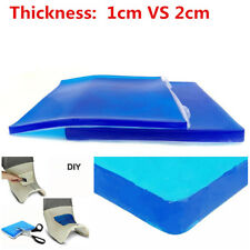 Motorcycle Seat Gel Pad 25*25*2cm Minimize Rider-fatigue Shock Absorption Soft