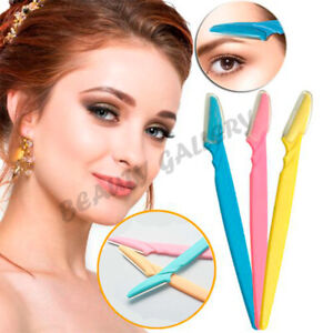 6X  Women's Ladies Pro Face & Eyebrow Hair Removal Razor Shaper Shaver Trimmer