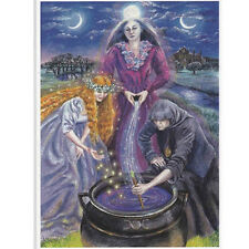 PAGAN WICCAN GREETING CARDS Brigid Triple GODDESS Crone CELTIC WENDY ANDREW