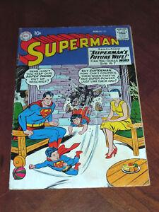 SUPERMAN #131 (1959)  VG- (3.5) cond.  MXYZPTLK Story, Superoy story