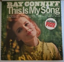 Ray Conniff And The Singers This Is My Song And Other Great Hits 1967 Columbia