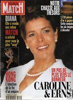 paris match n°2511 caroline ernst diana hong kong 1997