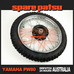1983-2011 Yamaha Pw80 Peewee 80 Front Tyre Front Wheel Assy Sparepatsu