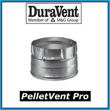 """DURAVENT PELLETVENT PRO Pipe 4"""" Clean Out Tee Cap #4PVP-CO NEW! FREE USA SHIP!"""