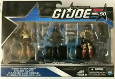 GI Joe Rock Rampage Action Figure Set~Alpine,Cobra Shock Trooper,Rock Viper~NEW!