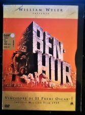 BEN HUR(1959)DVD 1°STAMPA Registrazione su doppia faccia-SNAPPER EDIT-COME NUOVO