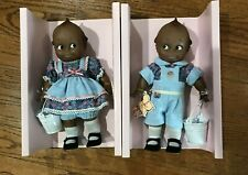 "Cameo Jesco Black Kewpie Doll Boy Girl African American Blue Dress Pants 12"" NIB"