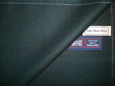 100% PURE NEW WOOL WORSTED JACKETING FABRIC IN TIC WEAVE, MADE IN ENGLAND–2.0 m