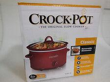 Crock Pot Classic 4 Qt Oval Slow Cooker (20980)