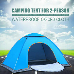 Outdoor Automatic Waterproof 1or 2 People Portable folding Beach Camping Tents