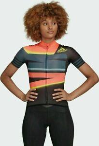 Adidas Adistar Aeroready Womens Cycling  Full Zip Jersey  Size S Small FJ6600