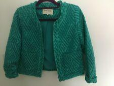 RIVER ISLAND turquoise jacket size 6