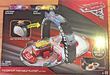 Disney Pixar Cars 3 Piston Cup Portable Playset Gift Pack   4+  New