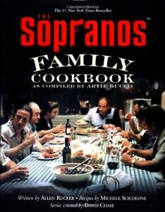 Brand New The Sopranos Family Cookbook: As Compiled by Artie Bucco Hardcover