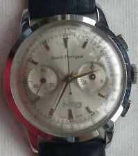Girard Perregaux chronograph mens wristwatch nickel chromiun case load manual