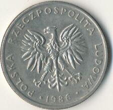 COIN / POLAND / 20 ZLOTYCH 1986  #WT8650