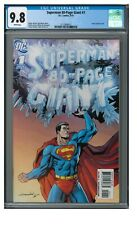 Superman 80-Page Giant #1 (2010) Aaron Lopresti Cover CGC 9.8 White Pages CE836