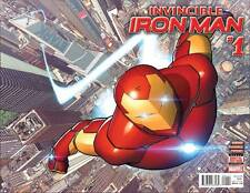Invincible Iron Man #1 2015 All-New All-Different Marvel 9.4 NM