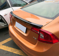 Unpainted Deflector Spoiler Rear Wing Rear Spoiler For Volvo S60 S60L 2011-2017