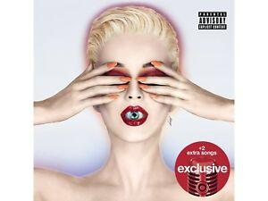 Katy Perry Witness Target Exclusive Audio CD 2 Bonus Songs NEW