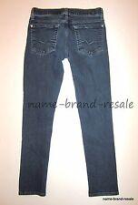 7 FOR ALL MANKIND ROXANNE Jeans Womens 28 x 26 Skinny Leg Dark Faded Wash