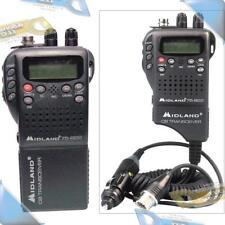 NEW MIDLAND Handheld 40-Channel CB Radio w/NOAA/All-Hazard Monitor/Auto Adapter