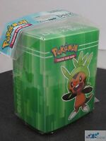 POKEMON XY CHESPIN ULTRA PRO DECK BOX CARD BOX FOR POKEMON CARDS
