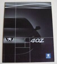 Peugeot 407 2007 Car Sales Brochures