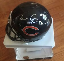 RARE Tarik Cohen Signed Autograph Riddell Chicago Bears Mini Helmet Photo PROOF