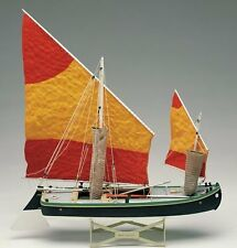 "Beautiful, brand new Amati model ship kit: the ""Bragozzo"" Venetian fishing boat"
