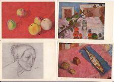 Kuzma Petrow-Wodkin (1878–1939), russischer Maler und Schriftsteller. 9 Postkar.