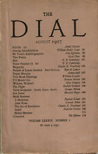 SIGNED BY MALCOLM COWLEY - THE DIAL August 1927 - Vol. LXXXIII No. 2