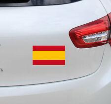 Vinilo pegatina  #760# BANDERA ESPAÑA ORIGINAL REFLECTANTE!! coches motos cascos