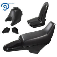 Plastic Fender Body Seat Gas Tank Kit for Yamaha PW50 PY50 Black