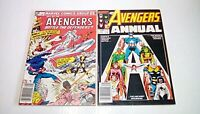 Avengers Annual #'s 11 & 12 (Marvel)1982/83 - Defenders & Inhumans - NEWSSTAND!!