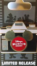 Disney Beach Club Resort Camera Minnie Mouse Slider Pin Limited Release RARE NEW