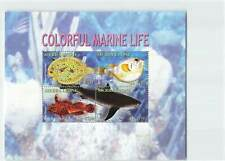 SIERRA LEONE COLORFUL MARINE LIFE - FISH 4v MINT SHEET