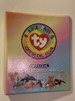 ☆☆🔥 1998 Beanie Babies Official Club Official Collector's Cards Binder 🔥☆☆