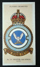 NO 151  SQUADRON  RAF Fighter Command   Original Vintage Card