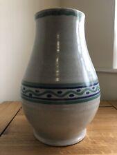 More details for poole pottery early vase 26cm high line dash decoration studio vase