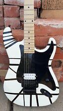 EvH 1978 Replica Black & White Charvel Guitar with Doug Aldrich White Humbucker