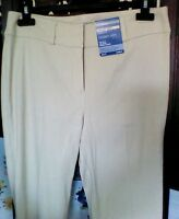 M&S Women's Trousers Stone Size 8