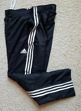 Adidas Athletic Training Running Basketball Pants Men's Size Xl Black Euc