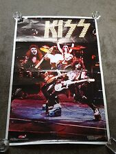 Kiss 1975 US Boutwell Rock Steady Alive Tour 36 x 23 Poster