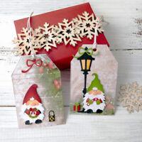 Stanzschablone Weihnachtsmann Geburtstag Oster Weihnachten DIY Karte Album