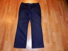 CHICO'S PLATINUM ULTIMATE FIT BOOT LEG BLUE JEANS WOMEN'S SIZE 2- GREAT!