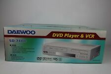 Daewoo SD-7400 6-Kopf VHS Videorecorder DVD-Player DVD/Videorekorder *NEW/NEU*