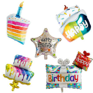 Colorful Self-inflating Balloon Melaleuca Birthday Candle Cake Party Supplies